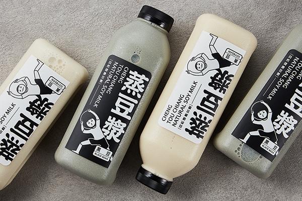 蒸豆浆包装设计